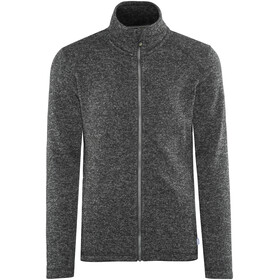 Meru Östersund Knitted Fleece Jacket Men Asphalt Melange